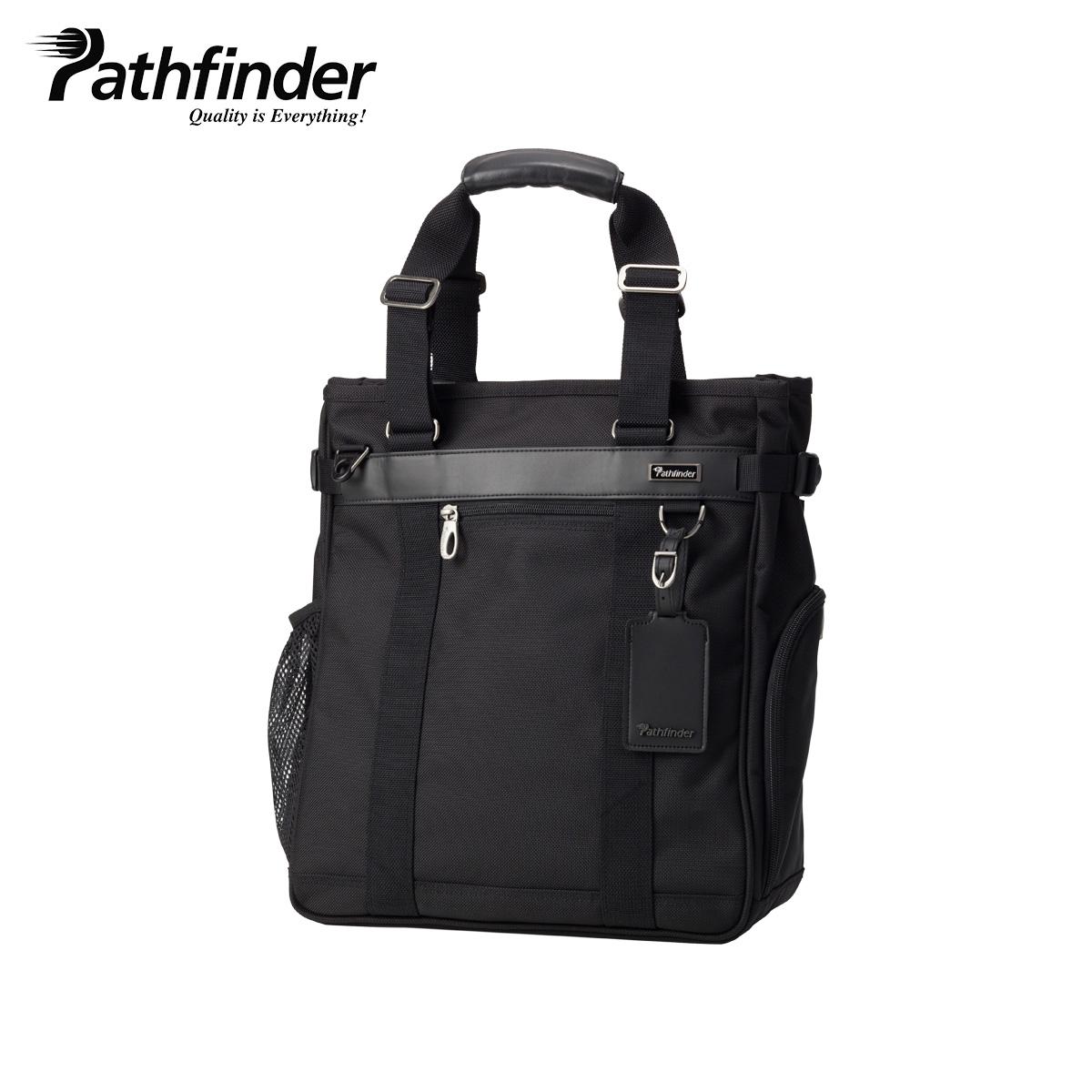 Pathfinder REVOLUTION XT パスファインダー トート バッグ ビジネスバッグ ショルダー メンズ ブラック 黒 PF6808B