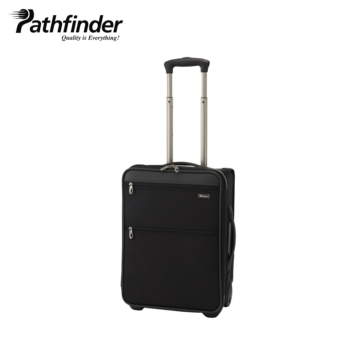 Pathfinder REVOLUTION XT パスファインダー バッグ キャリーケース キャリーバッグ スーツケース 30L-44L メンズ 機内持ち込み ソフト 拡張 ブラック 黒 PF6819DAXB