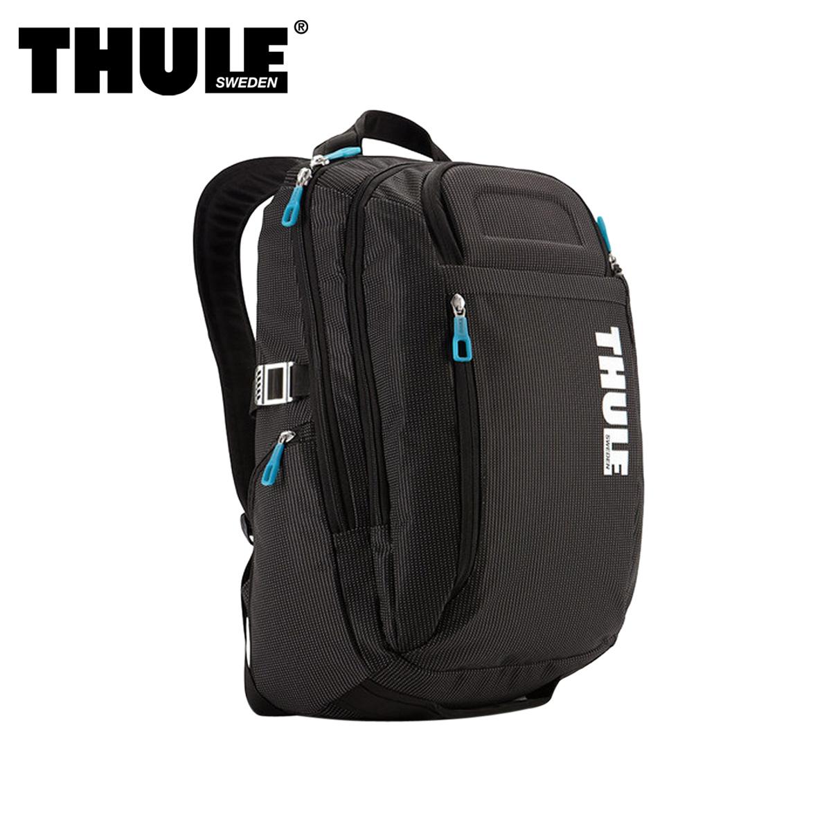 THULE CROSSOVER BACKPACK スーリー リュック バッグ バックパック クロスオーバー メンズ レディース 21L ブラック 黒 3201751
