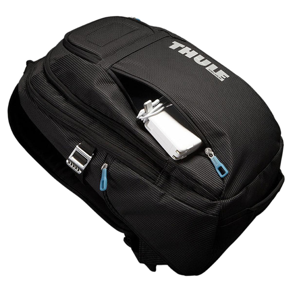 THULE CROSSOVER BACKPACK Sioux Lee rucksack bag backpack crossover men gap  Dis 21L black black 3201751 [8/6 Shinnyu load]