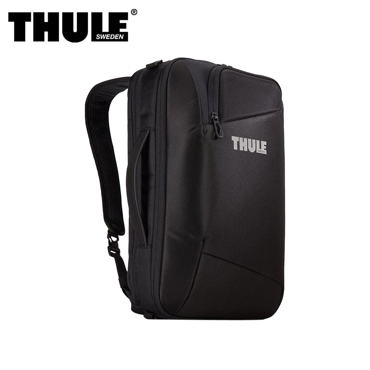 THULE 3WAY ACCENT LAPTOP BAG スーリー バッグ ビジネスバッグ ブリーフケース バックパック ショルダー アクセント メンズ レディース ブラック 黒 3203625