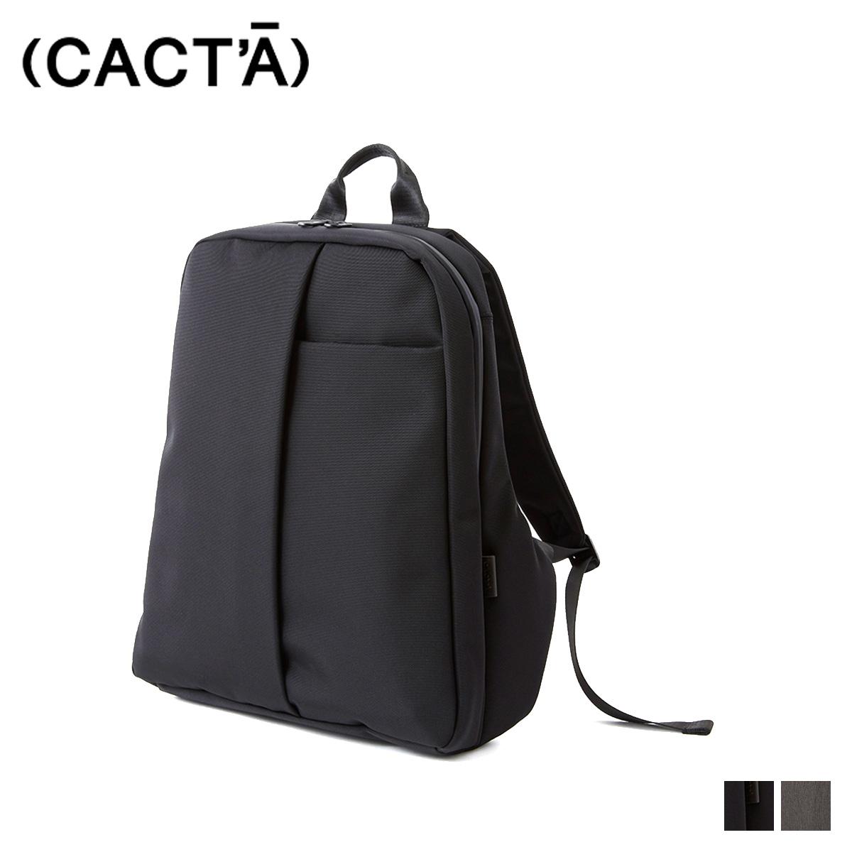 CACTA COLON BACKPACK ESPACE カクタ リュック バッグ バックパック メンズ ブラック グレー 黒 1009