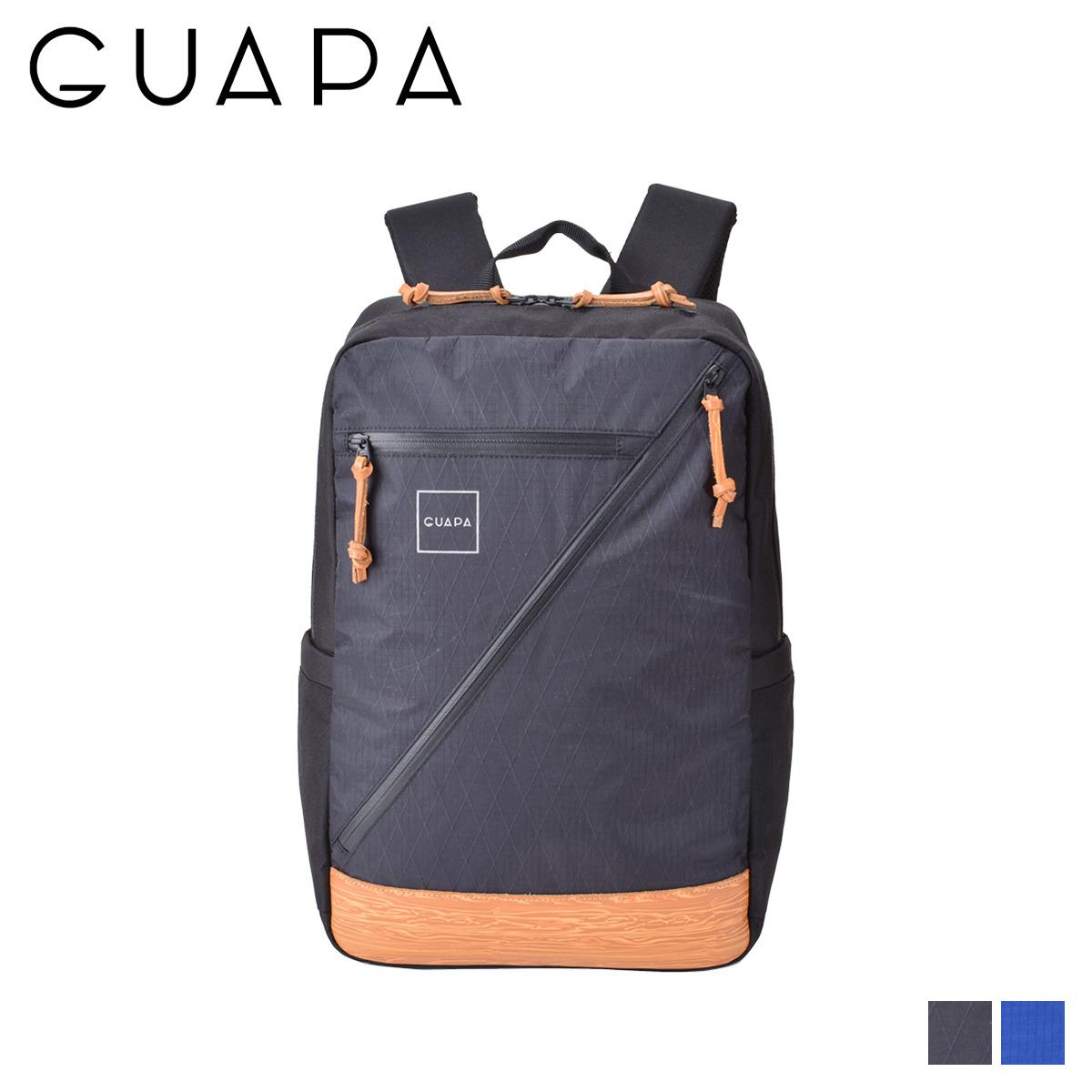 GUAPA X SERIES グアパ リュック バッグ バックパック メンズ レディース 18L ブラック ネイビー 黒 51000