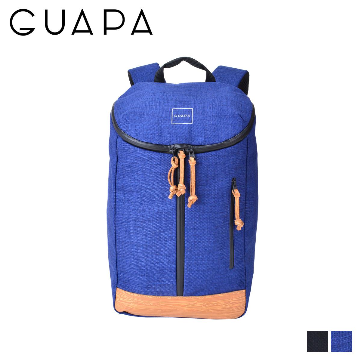 GUAPA DONAU SERIES グアパ リュック バッグ バックパック メンズ レディース 18L ブラック ネイビー 黒 51004