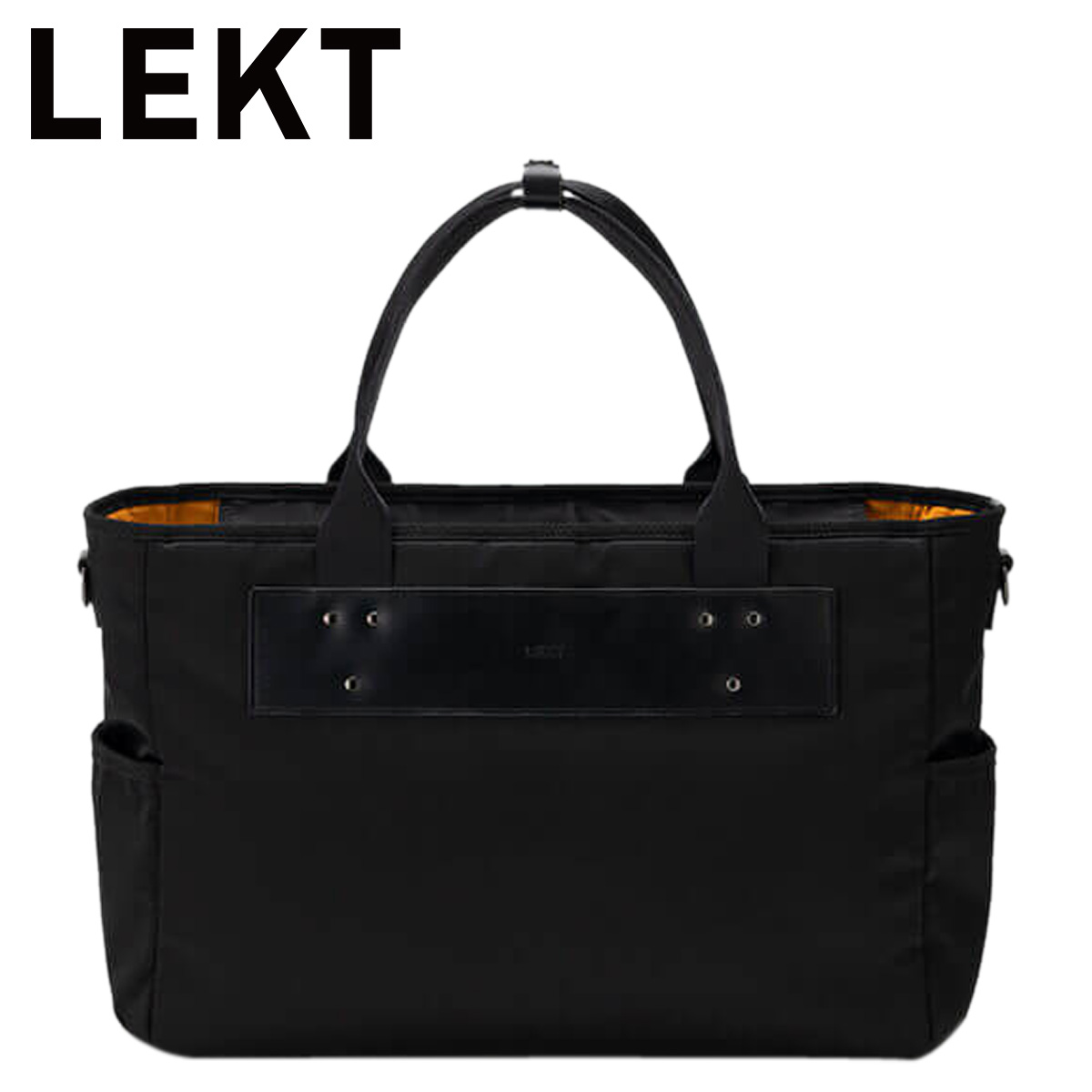 LEKT LEKT-0002 レクト トート カバン ビジネスバッグ ショルダー メンズ 2way ブラック 黒