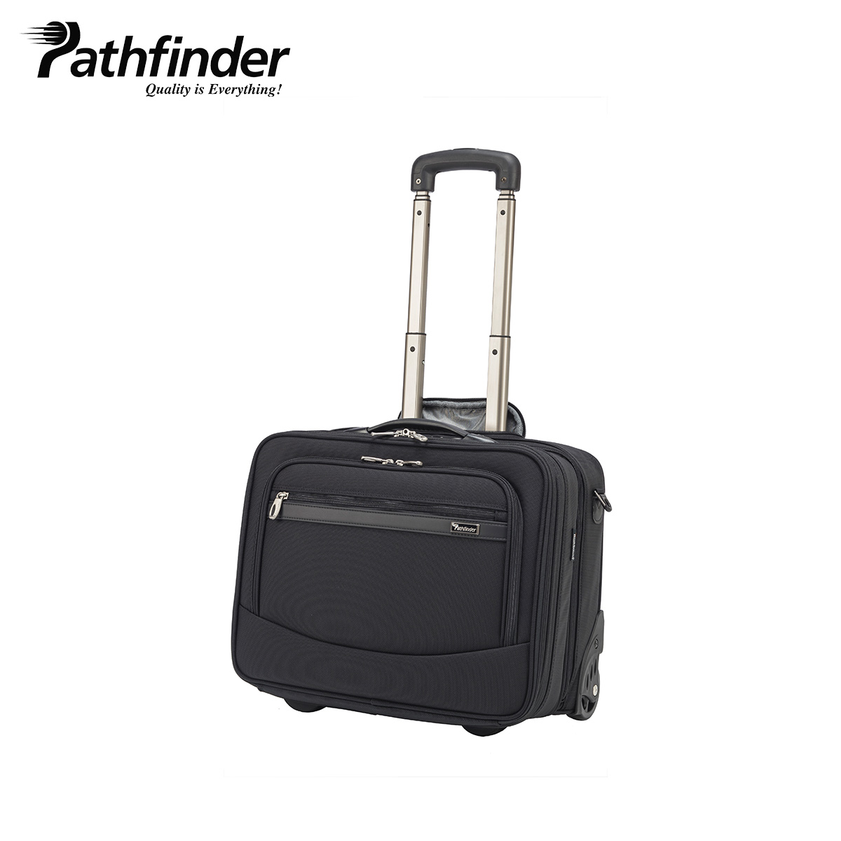 Pathfinder REVOLUTION XT パスファインダー バッグ キャリーケース キャリーバッグ スーツケース 24L-30L メンズ 機内持ち込み ソフト 拡張 ブラック 黒 PF6877B