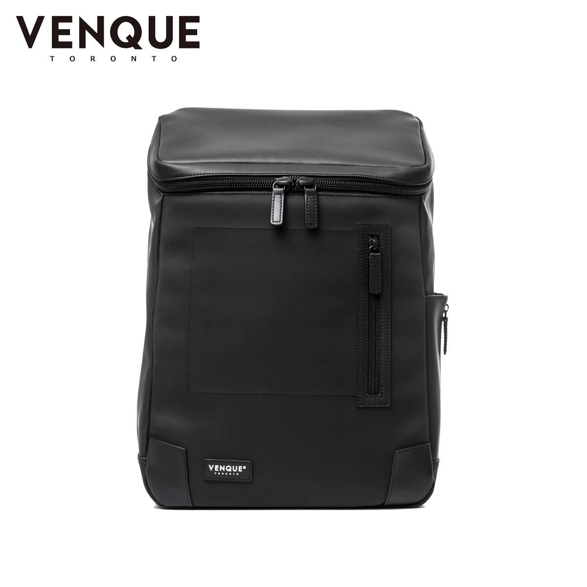VENQUE AMSTERDAM ヴェンク リュック バッグ バックパック メンズ レディース 18L ブラック 黒