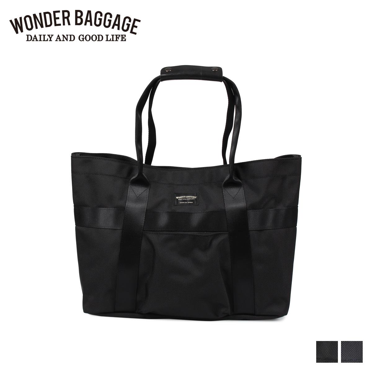 WONDER BAGGAGE GOODMANS LIGHT TOTE ワンダーバゲージ トートバッグ バッグ グッドマンズ メンズ レディース ブラック ネイビー 黒 WB-G-023