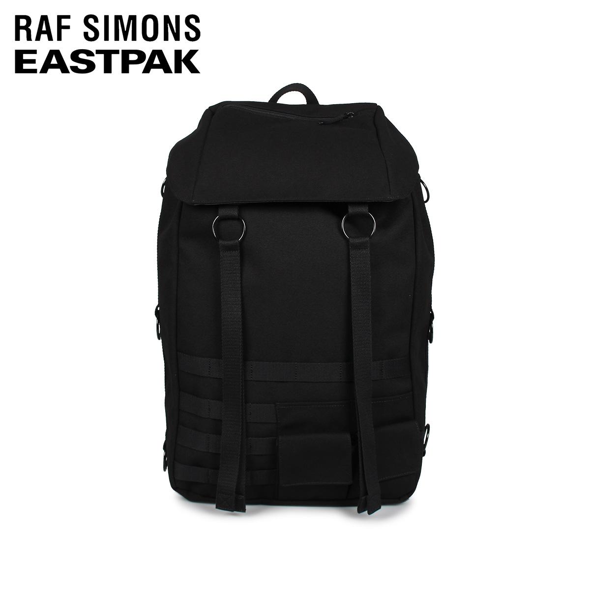 RAF SIMONS EASTPAK TOPLOAD L LOOP ラフシモンズ イーストパック リュック バッグ バックパック トップロード メンズ レディース 42.5L コラボ ブラック 黒 EK93E