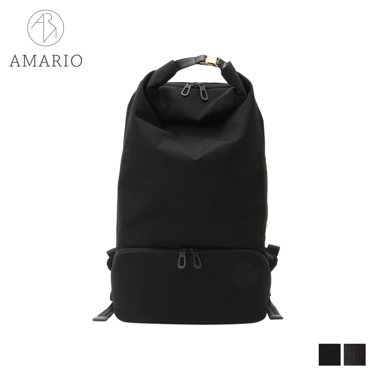 AMARIO CULM BACKPACK 15 アマリオ リュック バッグ バックパック メンズ レディース 32L ブラック グレー 黒 CRUMBP15 [10/15 新入荷]