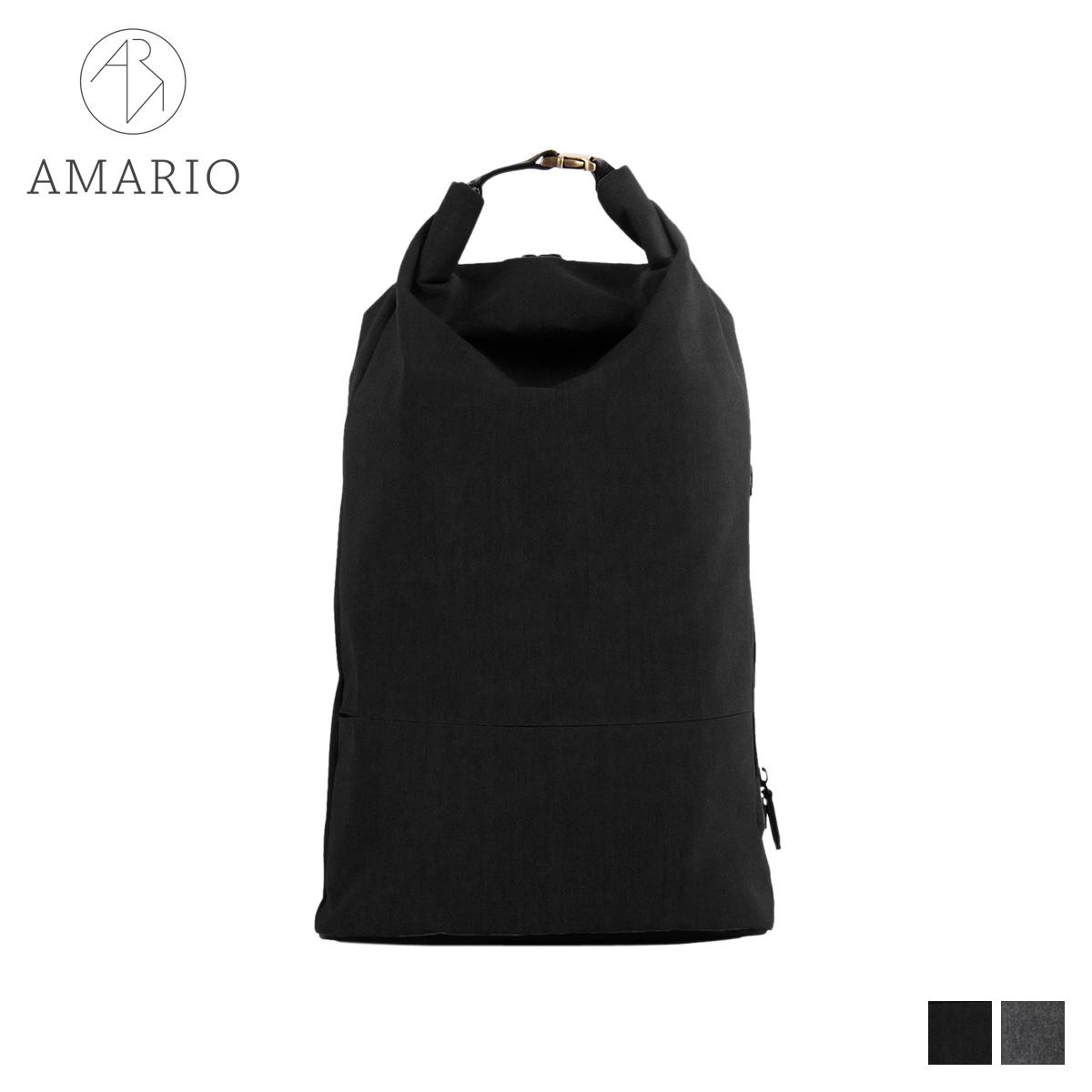 AMARIO CULM DAYPACK アマリオ リュック バッグ バックパック メンズ レディース 15L ブラック グレー 黒 CRUMDP