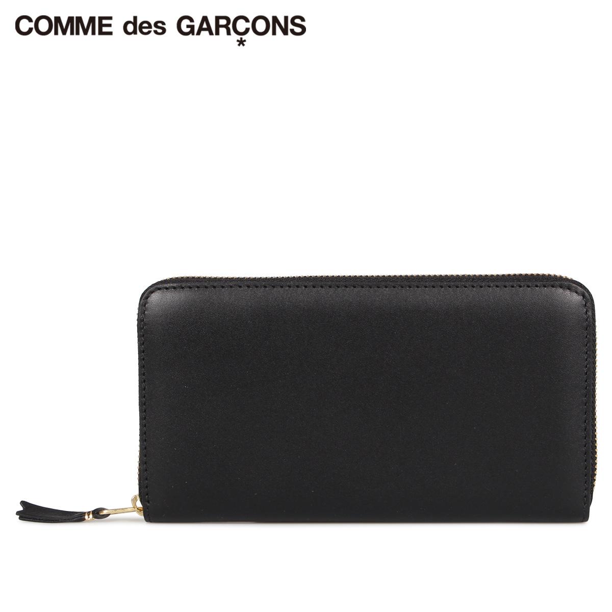 COMME des GARCONS CLASSIC WALLET コムデギャルソン 財布 長財布 メンズ レディース ラウンドファスナー 本革 ブラック 黒 SA0111 [10/10 新入荷]