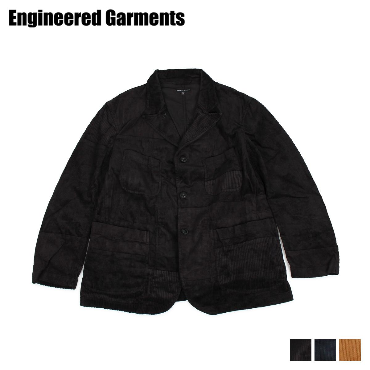 【最大600円OFFクーポン】 ENGINEERED GARMENTS BEDFORD JACKET エンジニアドガーメンツ ジャケット ベッドフォードジャケット メンズ ブラック ネイビー ブラウン 黒 19FD005