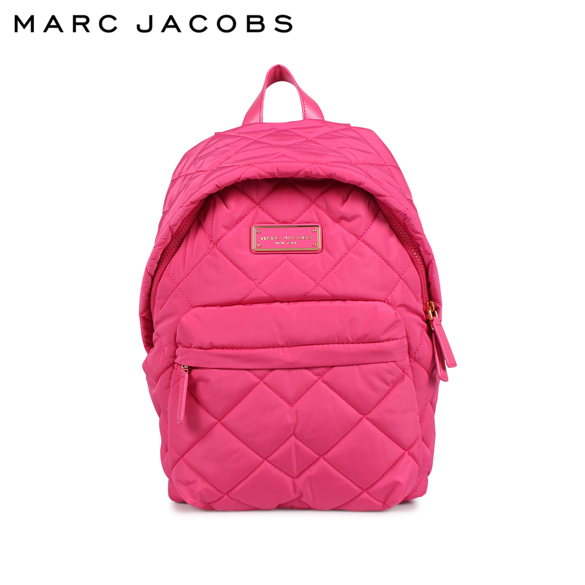 MARC JACOBS QUILTED BACKPACK マークジェイコブス リュック バッグ バックパック レディース ピンク M0011321