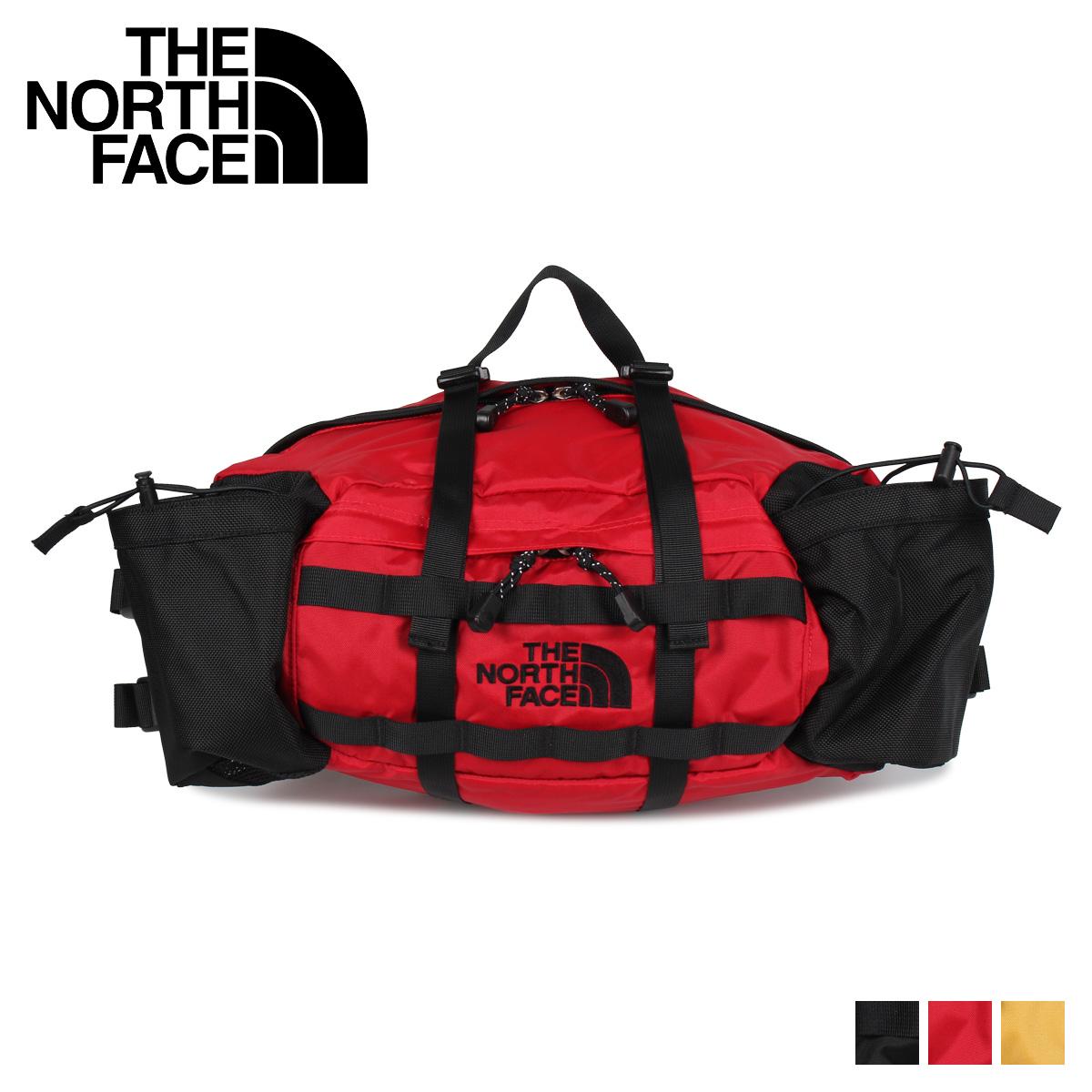 THE NORTH FACE DAY HIKER LUMBAR PACK ノースフェイス バッグ ウエストバッグ ボディバッグ デイ ハイカー ランバーパック メンズ レディース 12L ブラック レッド イエロー 黒 NM71863