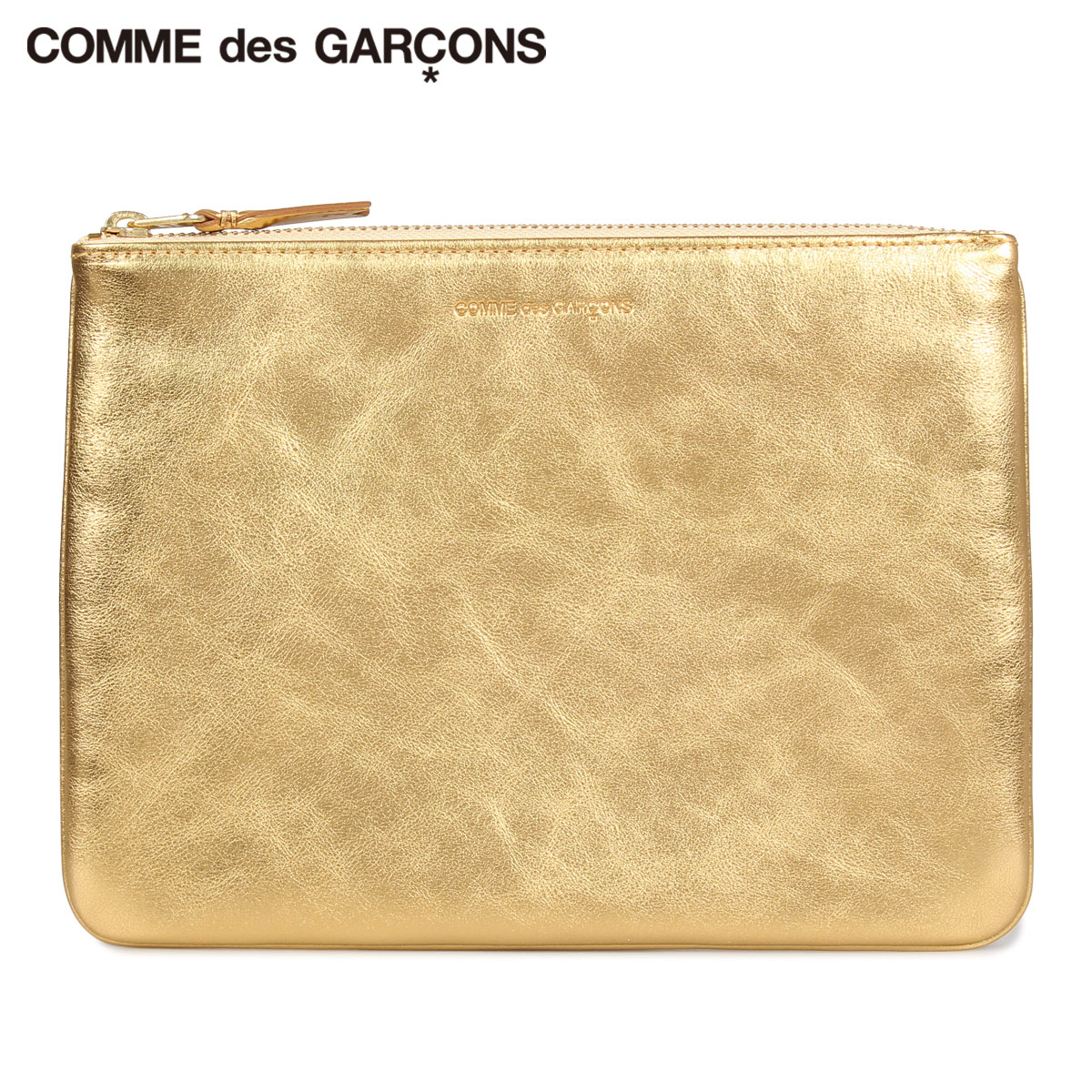 COMME des GARCONS GOLD AND SILVER COIN CASE コムデギャルソン 財布 小銭入れ コインケース メンズ レディース 本革 ゴールド SA5100G