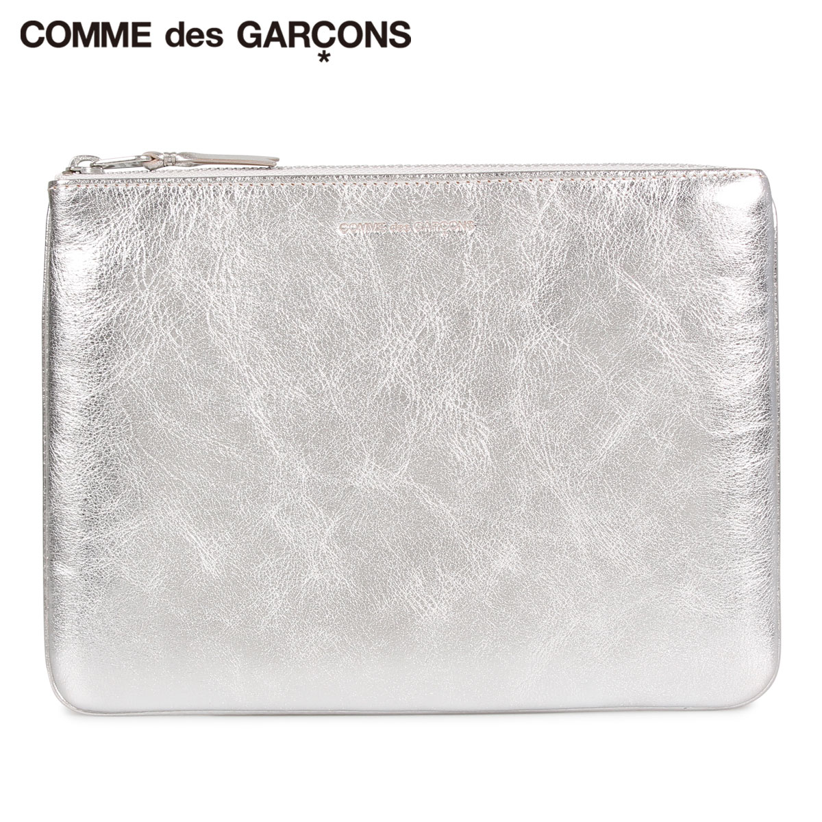 COMME des GARCONS GOLD AND SILVER COIN CASE コムデギャルソン 財布 小銭入れ コインケース メンズ レディース 本革 シルバー SA5100G