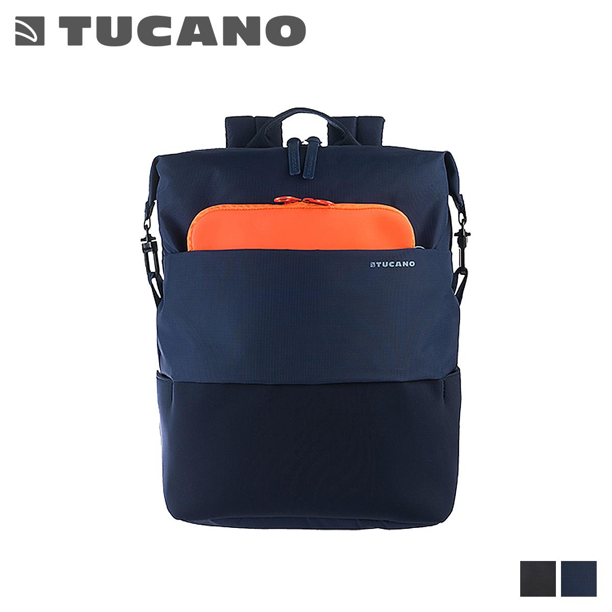 TUCANO MODO ツカーノ リュック バッグ バックパック メンズ レディース ブラック ブルー 黒 BMDOK