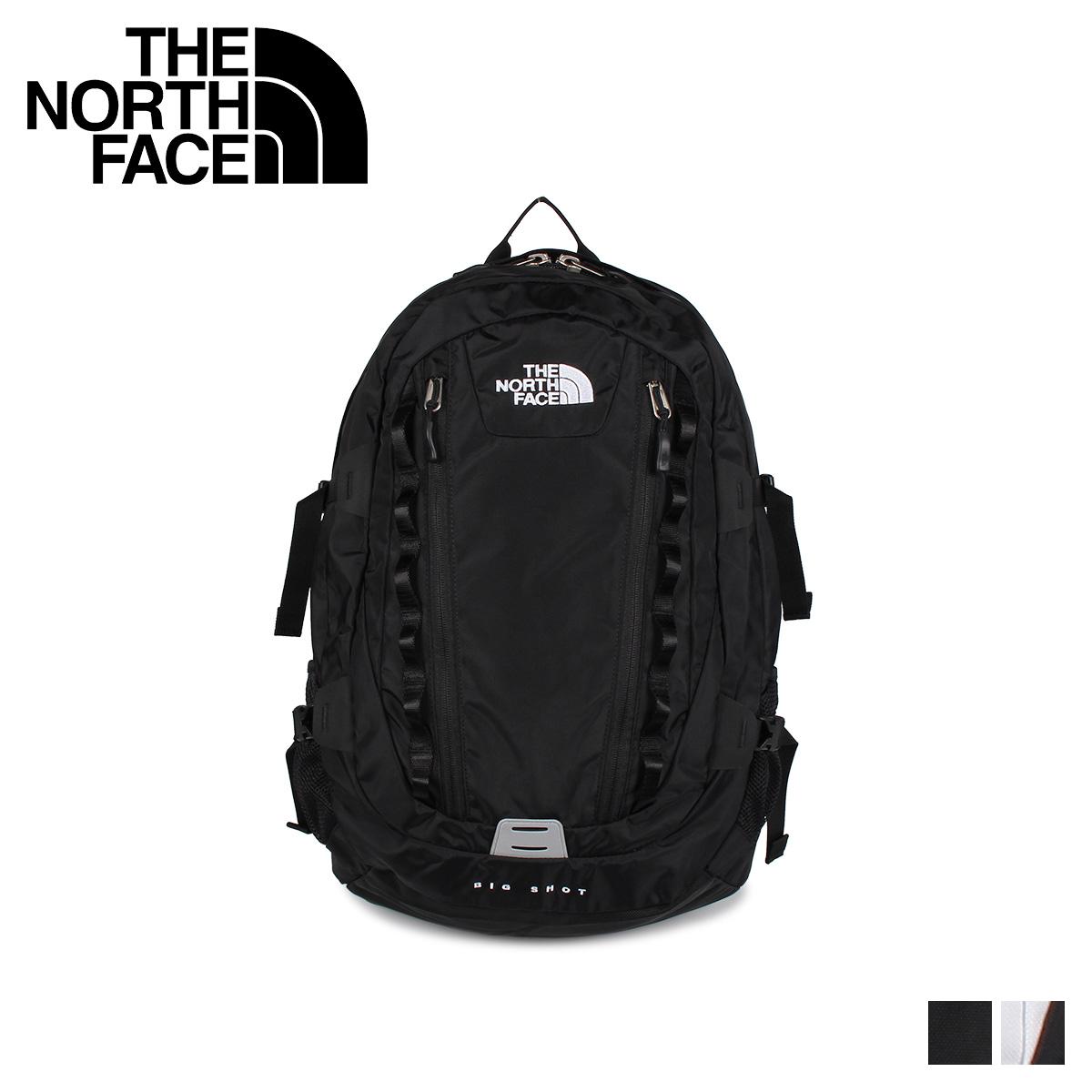 ノースフェイス THE NORTH FACE リュック バッグ バックパック ビッグショット メンズ レディース 32L BIG SHOT CLASSIC ブラック ホワイト 黒 白 NM71861 [11/13 追加入荷]