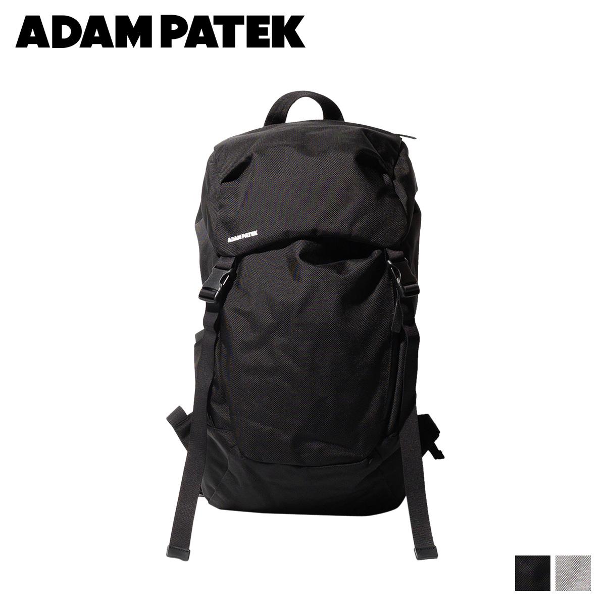 ADAM PATEK LENTS FLAP BACKPACK アダムパテック バッグ リュック バックパック メンズ レディース ブラック グレー 黒 AMPK-B045 [11/6 新入荷]