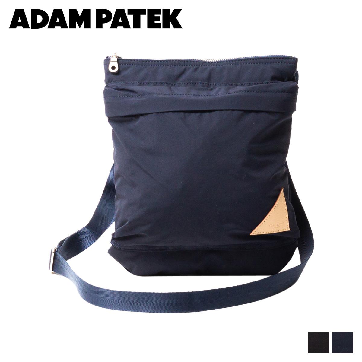ADAM PATEK LAKE BREATHATEC SHOULDERBAG アダムパテック バッグ ショルダーバッグ メンズ レディース ブラック ネイビー 黒 AMPK-B062