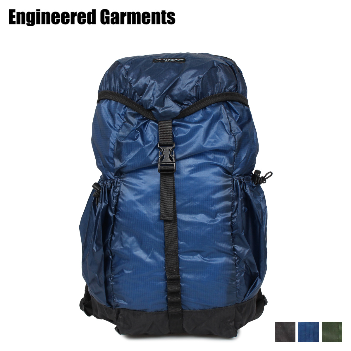 ENGINEERED GARMENTS UL BACKPACK エンジニアドガーメンツ リュック バッグ バックパック メンズ レディース ブラック ネイビー オリーブ 黒 19FH020