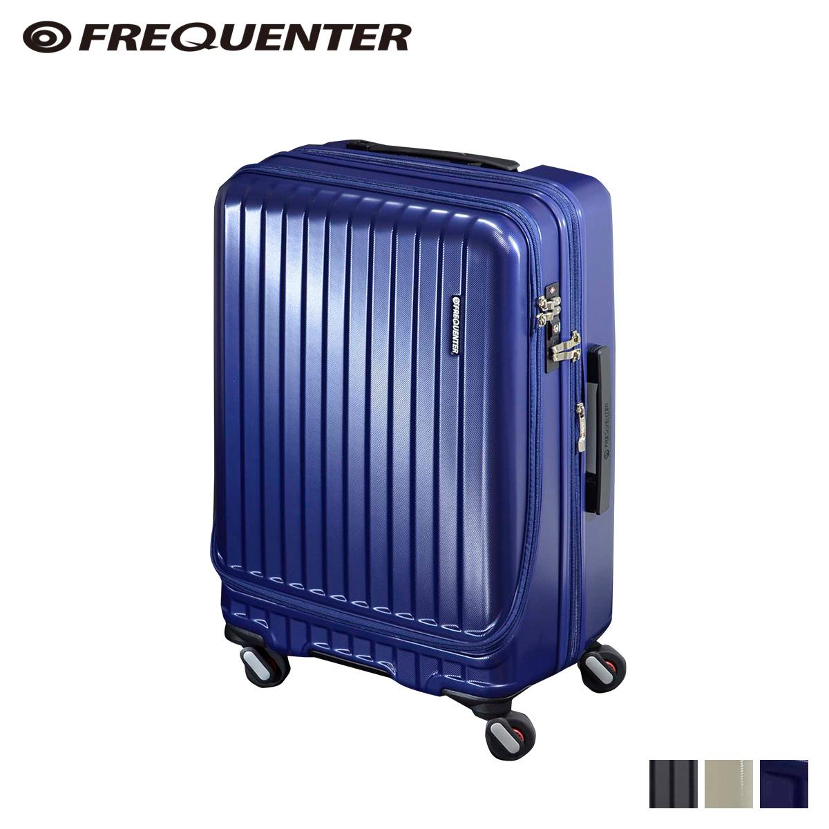 FREQUENTER MALIE フリクエンター スーツケース キャリーケース キャリーバッグ マリエ 55-66L メンズ 拡張 ハード ガンメタル アイボリー ネイビー 1-281 [10/18 新入荷]