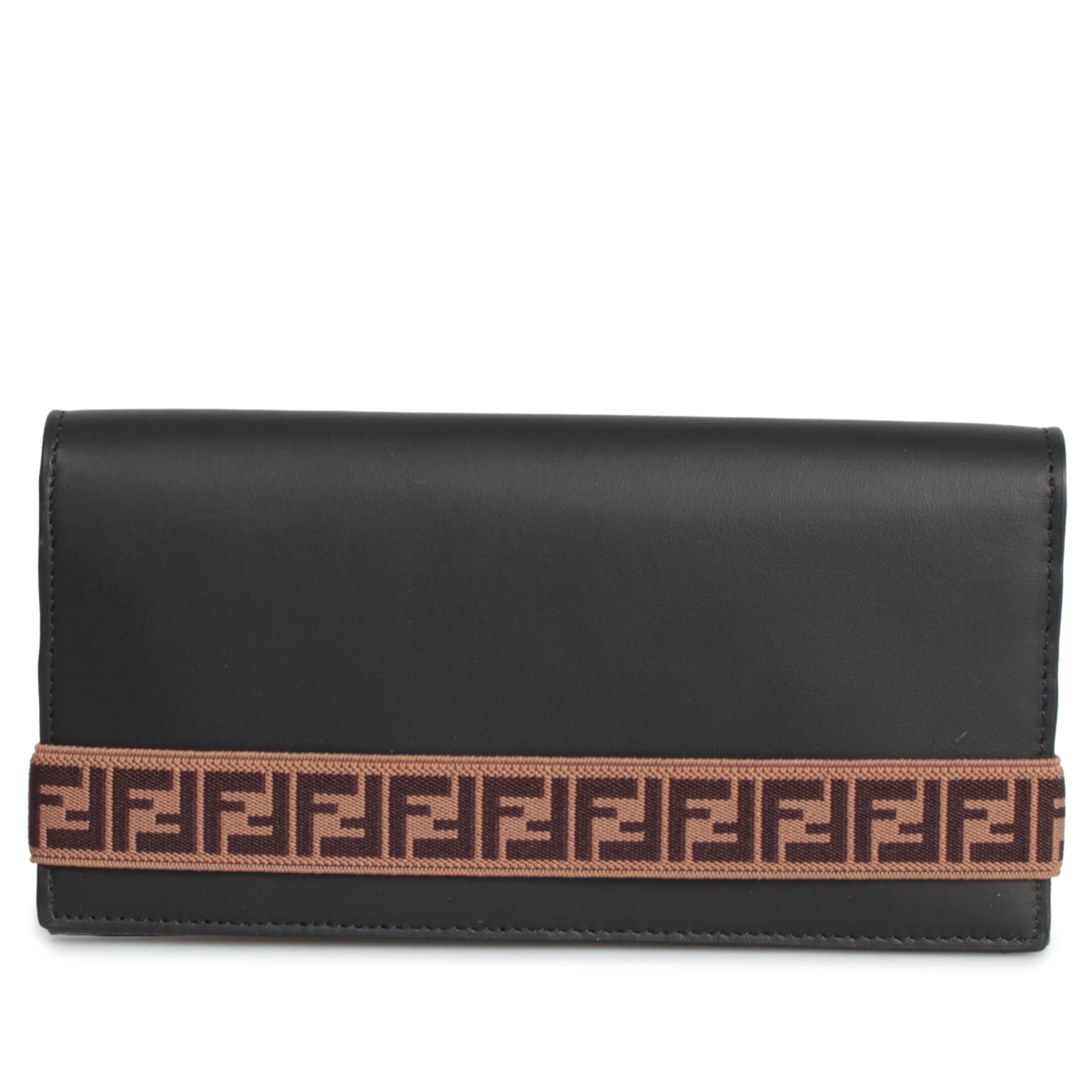 FENDI LONG WALLET フェンディ 財布 長財布 メンズ ブラック 黒 SFD0134 [12/5 新入荷]