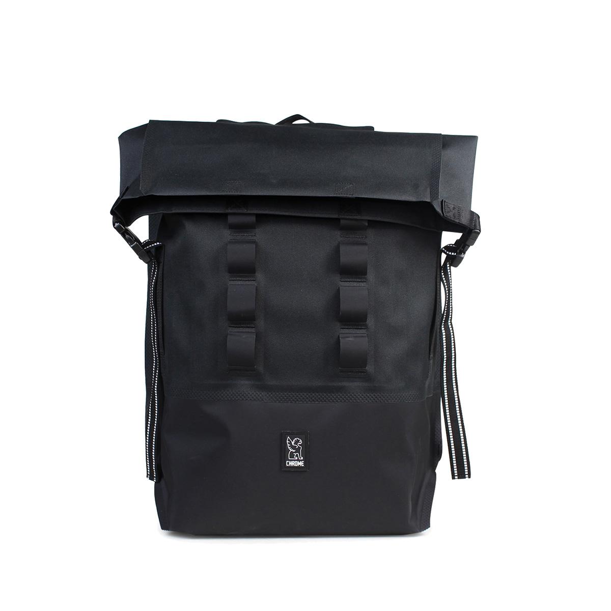 CHROME URBAN EX ROLLTOP リュック バッグクローム バックパック 28L メンズ レディース BG-218 ブラック レッド 黒