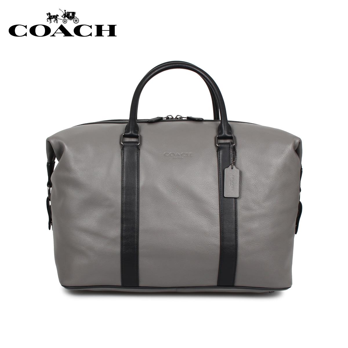 COACH F54765 コーチ バッグ ボストンバッグ メンズ グレー