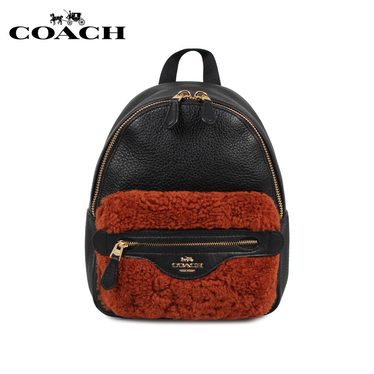 COACH F76666 コーチ バッグ リュック バッグパック レディース ブラック 黒 [11/27 新入荷]