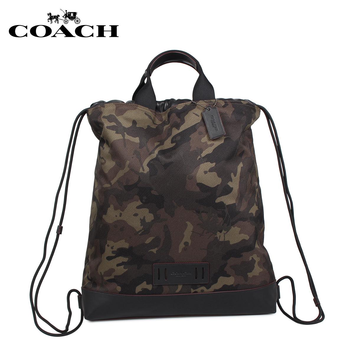 COACH F76784 コーチ バッグ リュック バッグパック メンズ カモフラージュ