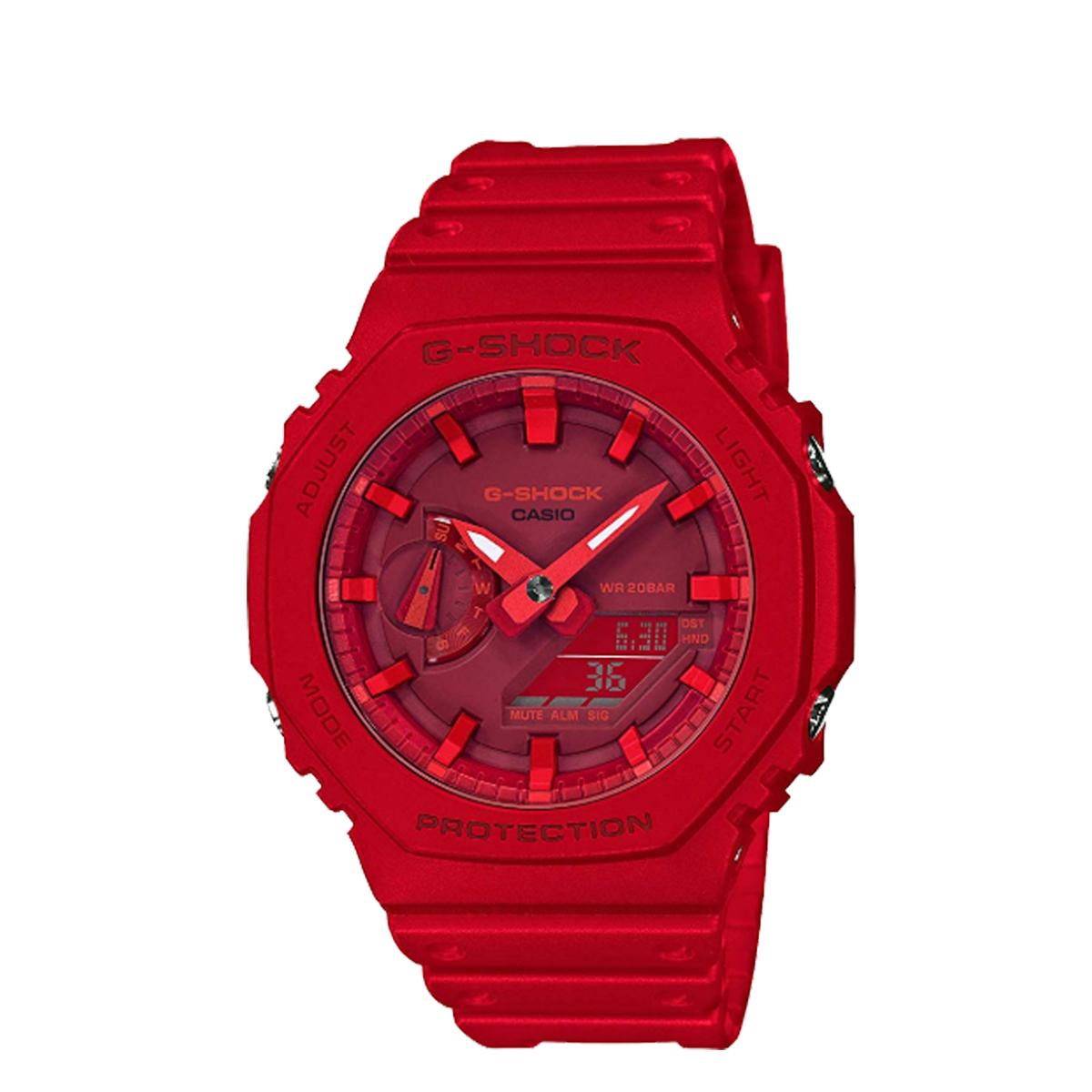 CASIO G-SHOCK カシオ 腕時計 GA-2100-4AJF ジーショック Gショック G-ショック メンズ レディース レッド