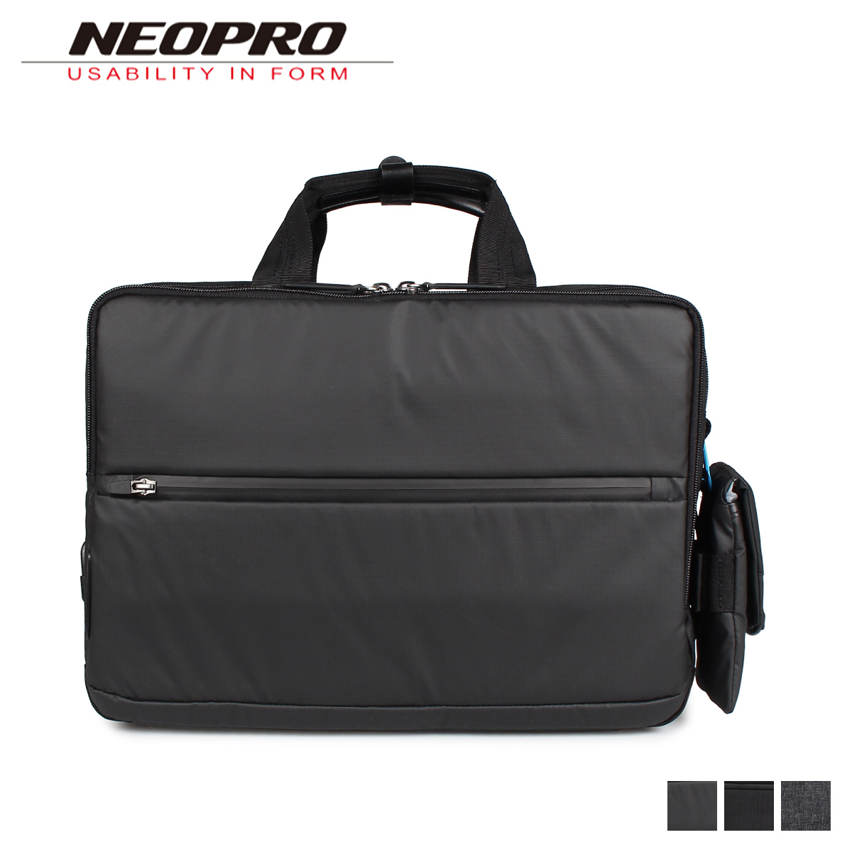 NEOPRO CONNECT ネオプロ リュック バック バックパック ビジネスバッグ ショルダー メンズ 2WAY ブラック 黒 2-771