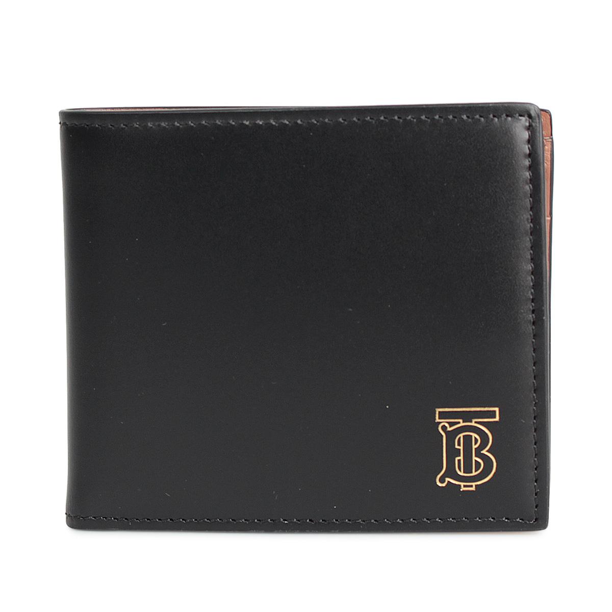 BURBERRY CC BILL COIN バーバリー 財布 二つ折り メンズ ブラック 黒 8014024