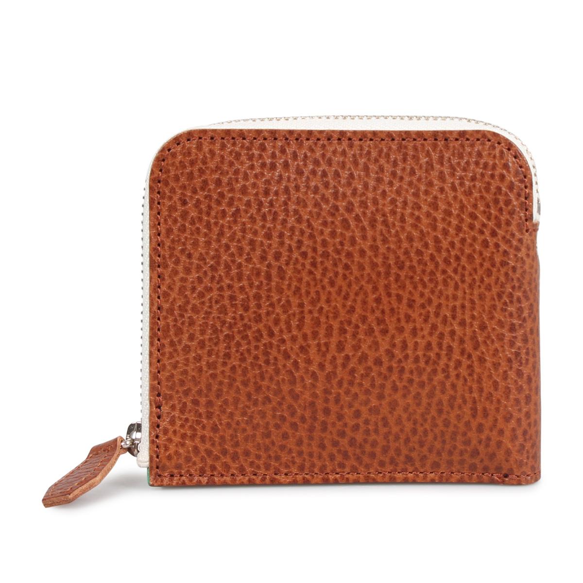 com-ono WALLET コモノ 財布 ミニ財布 メンズ ブラック ネイビー ブラウン オレンジ 黒 SLIM-002