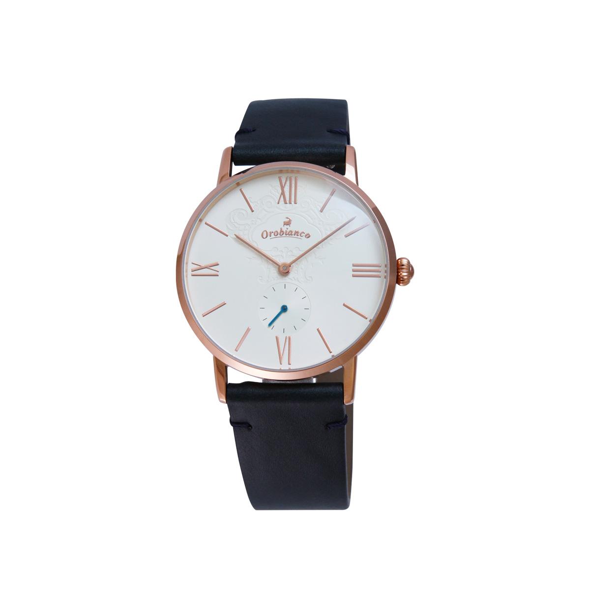 Orobianco SIMPATICO オロビアンコ 腕時計 メンズ 防水 ブラック ブラウン ネイビー 黒 OR0071 [5/7 追加入荷]