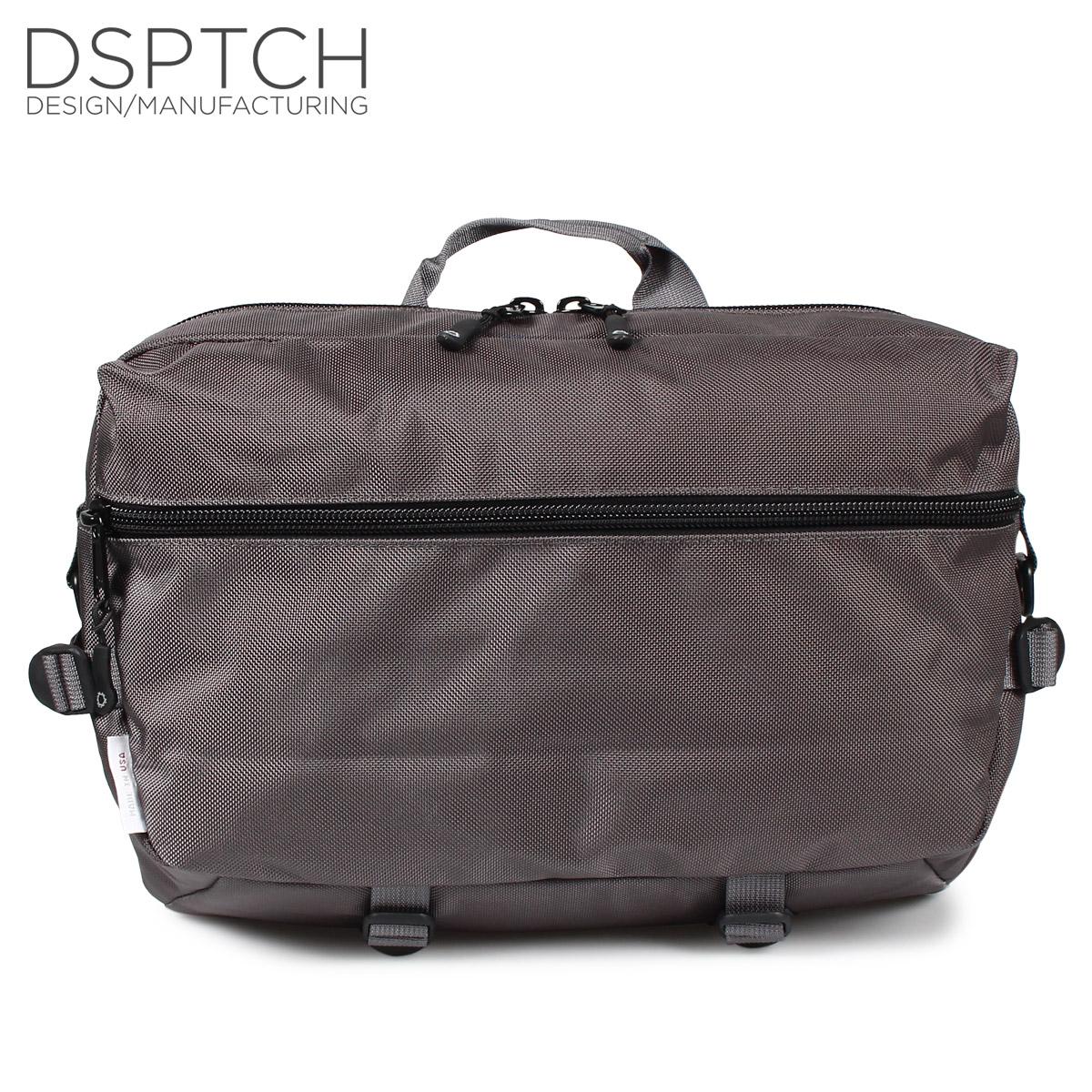 DSPTCH SLINGPACK ディスパッチ バック ショルダーバック スリングバッグ メンズ グレー PCK-SP-GRY