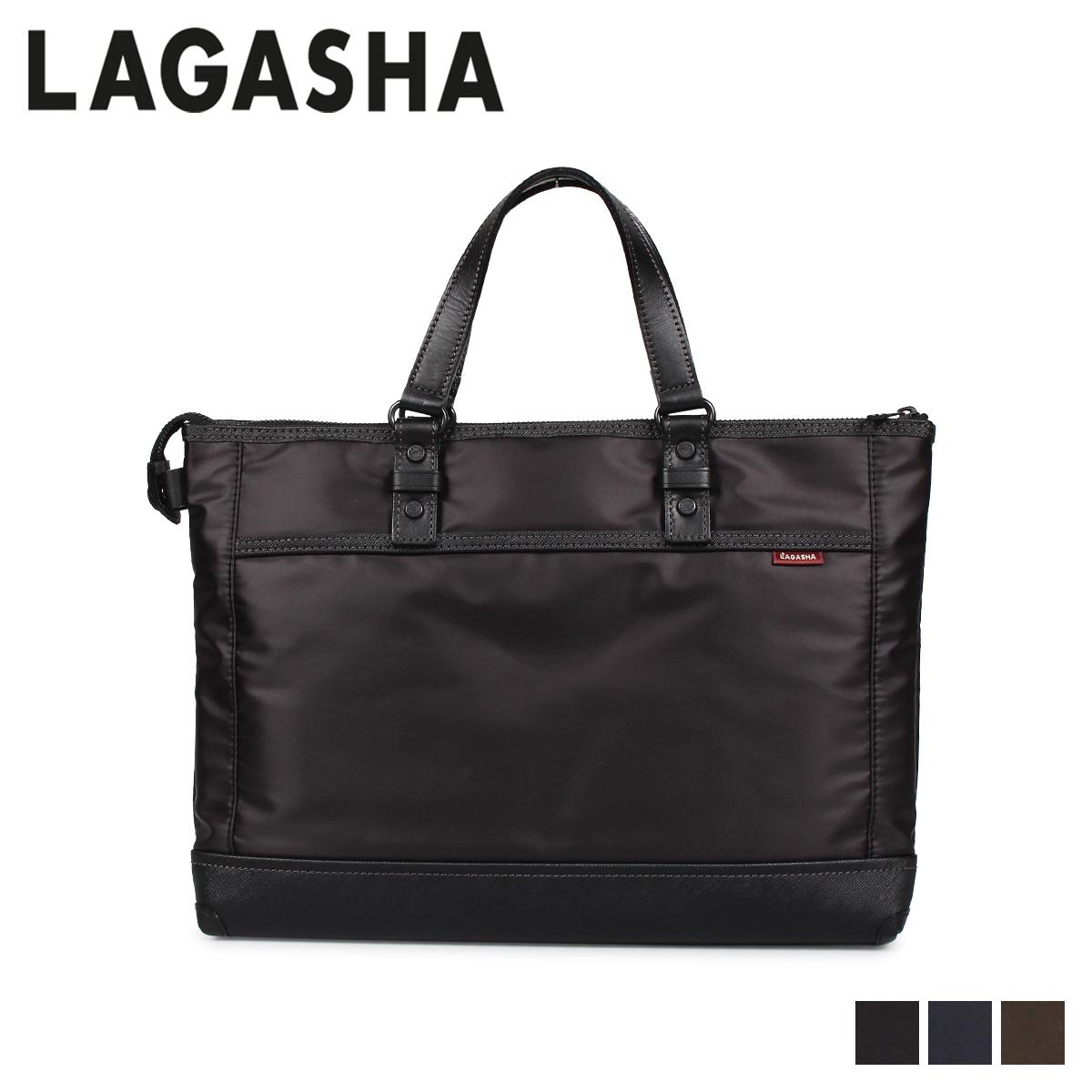 LAGASHA UPLIGHT ラガシャ アップライト バッグ ビジネスバッグ ブリーフケース メンズ ブラック ネイビー カーキ 黒 7227