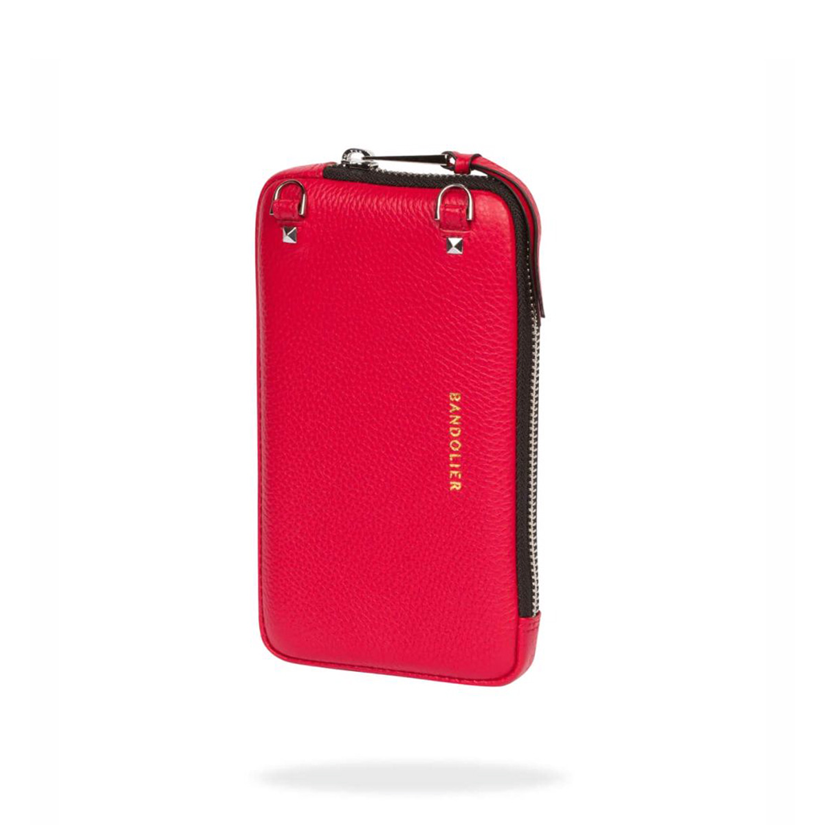 BANDOLIER EXPANDED RED POUCH バンドリヤー ポーチ スマホ 携帯 レディース レッド 21cas