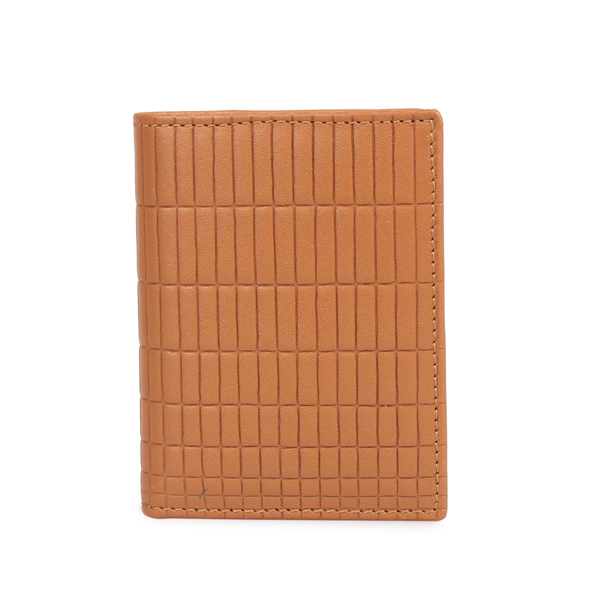 COMME des GARCONS BRICK LINE WALLET コムデギャルソン 財布 二つ折り メンズ レディース ベージュ SA0641BK