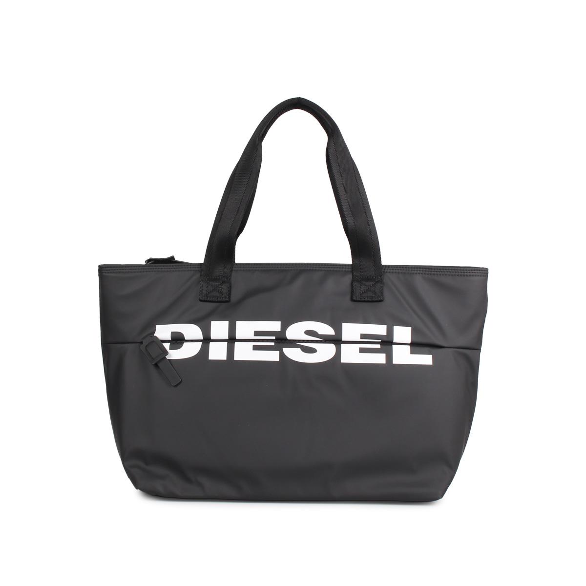 DIESEL BOLDMESSAGE ディーゼル バッグ トートバッグ レディース ブラック 黒 X06248-P1705