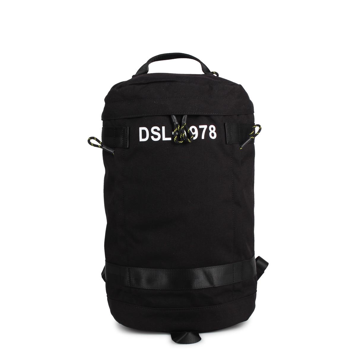 DIESEL URBHANITY PIEVE ディーゼル リュック バッグ バックパック メンズ ブラック 黒 X06259-P1516