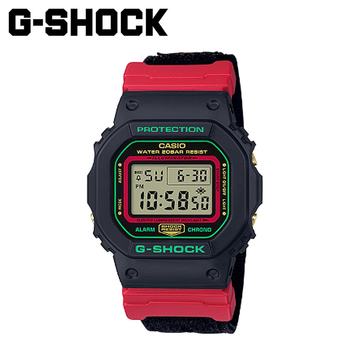 CASIO G-SHOCK カシオ 腕時計 DW-5600THC-1JF THROWBACK 1990S ジーショック Gショック G-ショック メンズ レディース ブラック 黒