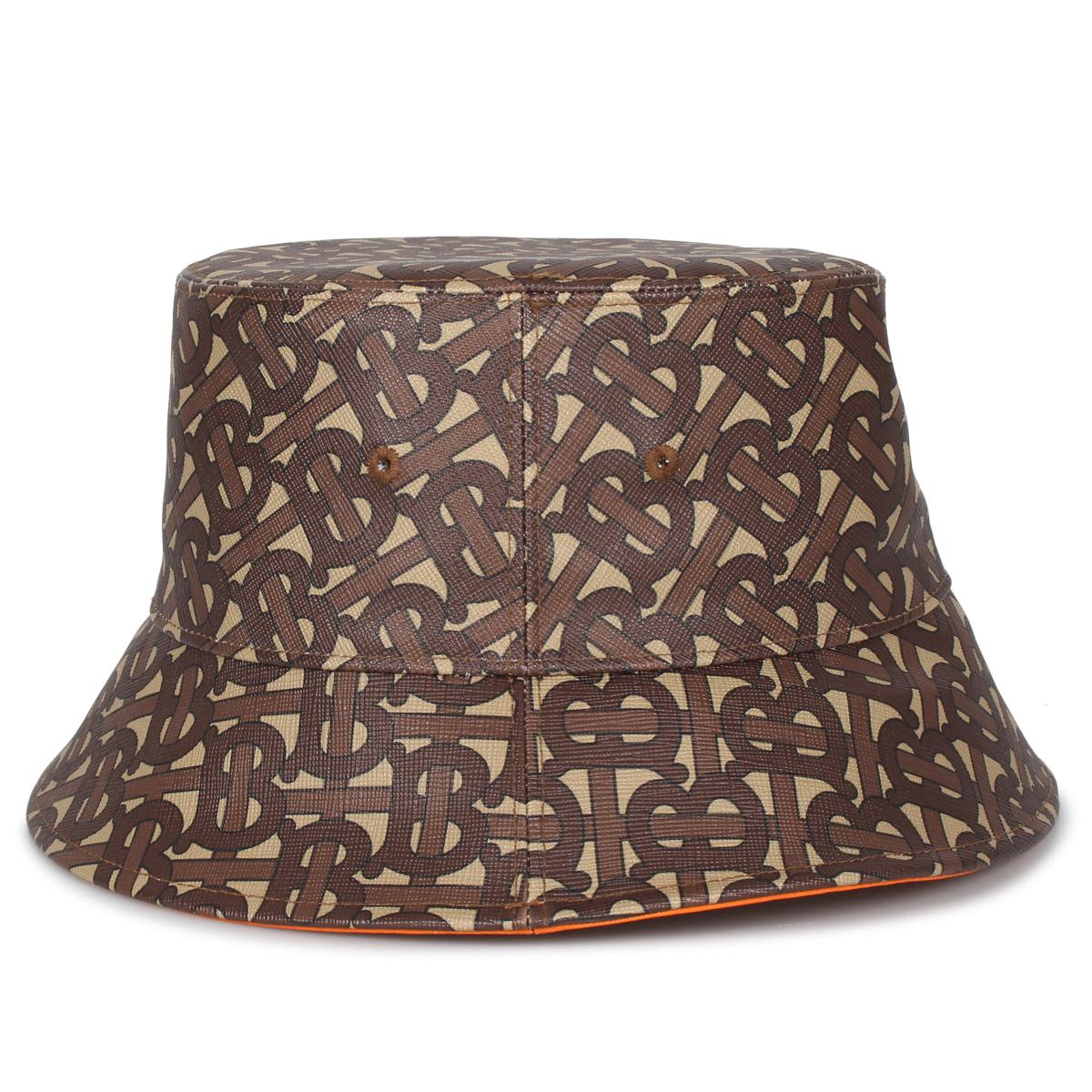 BURBERRY BUCKET HAT バーバリー ハット キャップ 帽子 バケットハット メンズ レディース ブラウン 8023808