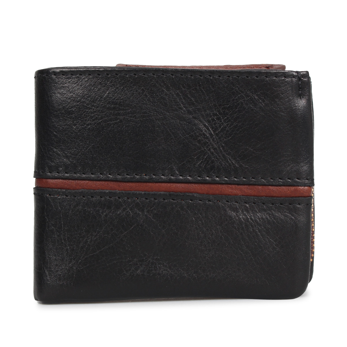 BAGGY PORT FULLCHROME バギーポート 財布 二つ折り メンズ レディース ブラック キャメル ブラウン 黒 HRD408