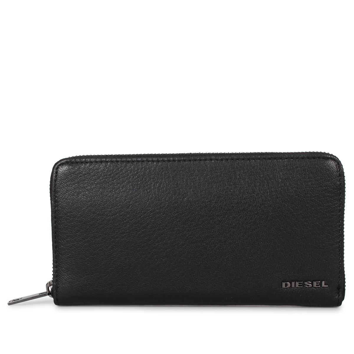 DIESEL 24 ZIP ディーゼル 財布 長財布 メンズ ブラック 黒 X06626-P0396