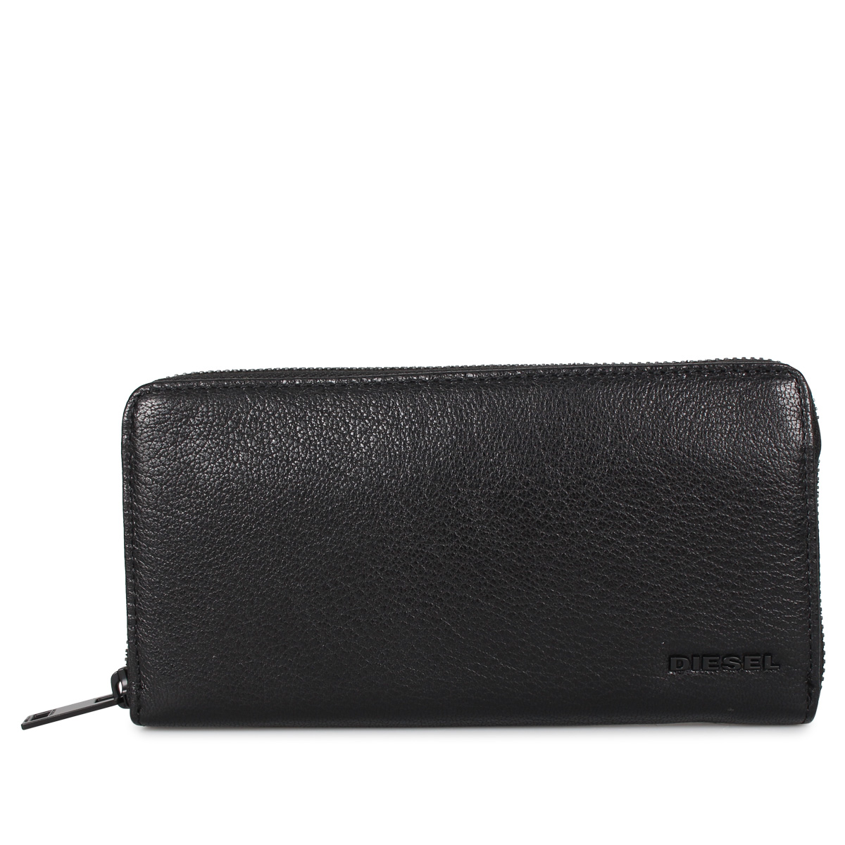 DIESEL 24 ZIP ディーゼル 財布 長財布 メンズ ブラック 黒 X06641-P3043