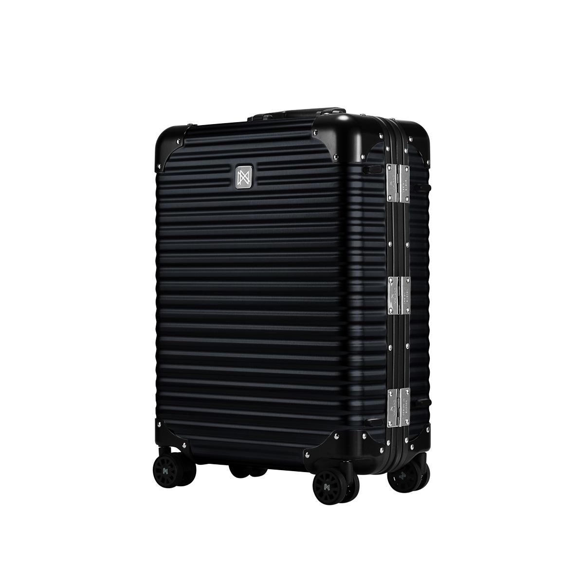 LANZZO NORMAN ランツォ スーツケース キャリーケース キャリーバッグ メンズ レディース 重さ:3600g ブラック グレー ゴールド シルバー 黒 LANZ-621