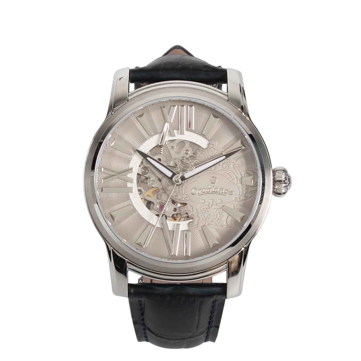 Orobianco ORAKLASSICA オロビアンコ 腕時計 メンズ 防水 ネイビー OR-0011 [5/7 追加入荷]